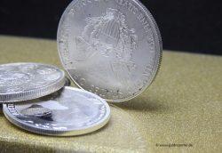 Silbermünzen (Foto: Goldreporter)