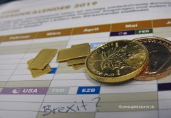 Gold, Brexit-Termin (Foto: Goldreporter)