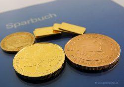 Gold, Goldmünzen, Sparen, Anleihen (Foto: Goldreporter)