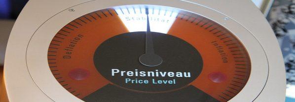 Inflation, Deflation, Preisniveau (Foto: Goldreporter)