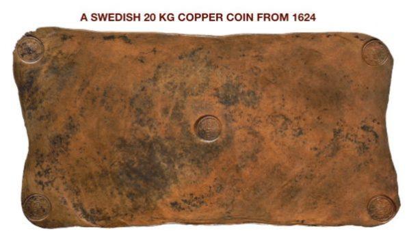 Kupfer, Barren, Schweden