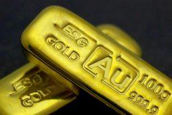 Goldbarren, Goldlaib (Foto: ESG Edelmetalle)