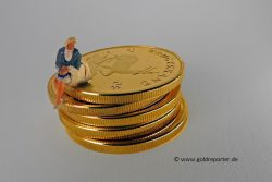 Goldpreis, Widerstand
