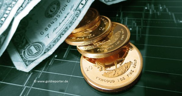 Gold, US-Dollar. Goldpreis (Foto: Goldreporter)