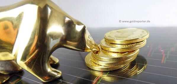 Gold, Goldpreis, Bär (Foto: Goldreporter)