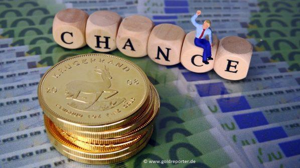 Gold, Goldpreis, Chance (Foto: Goldreporter)