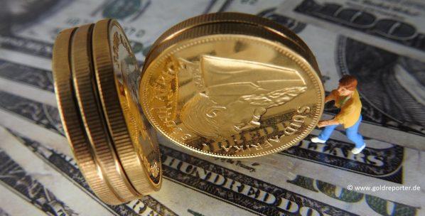 Gold, Goldpreis, Goldmarkt, Goldmünzen (Foto: Goldreporter)