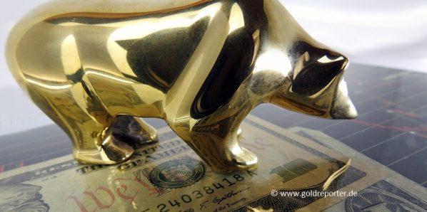 Goldpreis, Gold, Bären (Foto: Goldreporter)