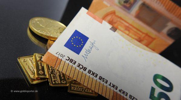 Gold, Goldpreis, Draghi (Foto: Goldreporter)