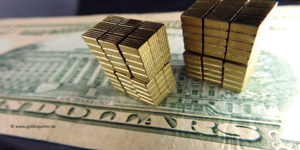 Gold, Goldreserven, US-Dollar (Foto: Goldreporter)