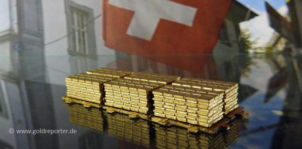 Gold, Schweiz, Goldnachfrage (Foto: Goldreporter)
