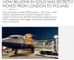 Gold, Transport, Polen, G4S