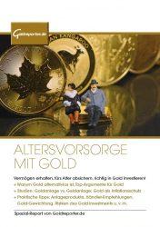 Gold, Altersvorsorge, Ratgeber