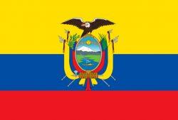 Gold, Ecuador, Flagge