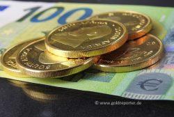 Gold, Goldpreis Euro (Foto: Goldreporter)