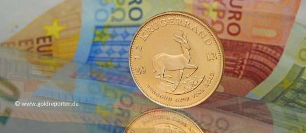 Gold, Goldmünze, Krügerrand (Foto: Goldreporter)