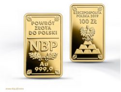 Goldmünze, Polen, Goldreserven