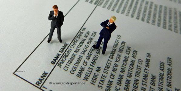 Gold, Banken, US-Terminmarkt (Foto: Goldreporter)