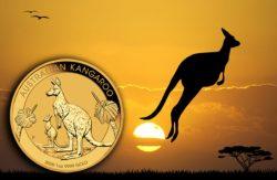 Gold, Goldmünze, Känguru, Perth Mint