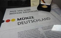 Goldmünzen, BRD, VfS, Münze Deutschland (Foto: Goldreporter)