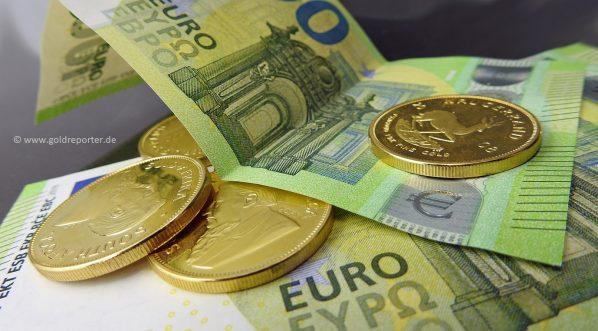 Gold, Goldmünzen, Goldbarren, Deutschland (Foto: Goldreporter)