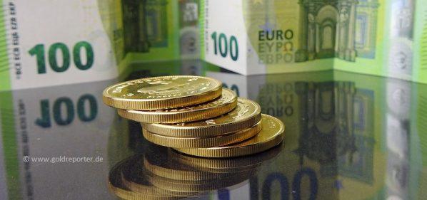 Gold, Goldpreis, Euro, Rekordhoch (Foto: Goldreporter)