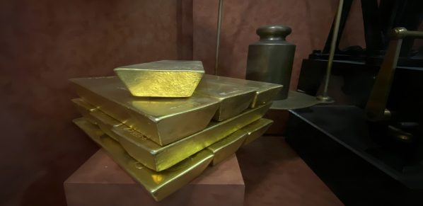 Gold, Goldbarren, COMEX (Foto: Goldreporter)