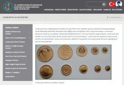 Goldmünzen, Türkei