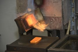 Gold, Goldbarren, Raffinerie, Schweiz