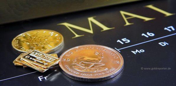 Gold, Goldpreis, Mai. Statistik (Foto: Goldreporter)
