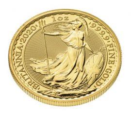 Gold, Goldmünze, Britannia
