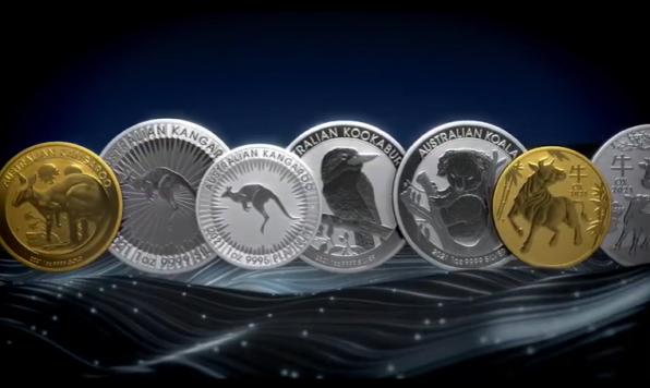 Goldmünzen, Silbermünzen, Perth Mint