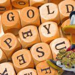Gold-Würfel-Duck