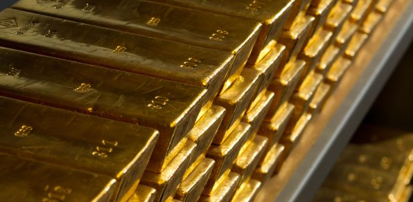 Gold, Goldreserven, Goldbarren