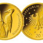 50-Euro-Goldmünze-Specht