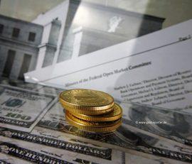 Goldpreis, Goldmünzen, Fed-Protokoll (Foto: Goldreporter)