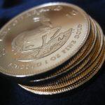 4-Krügerrand-Goldmünzen