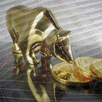 Goldpreis-Bär-Dollar