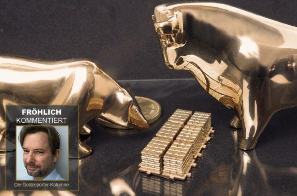Gold, Goldpreis, Goldreporter, Kolumne, Jürgen Fröhlich (Foto: Goldreporter)