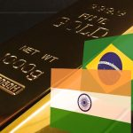 Goldreserven-Indien-Brasilien